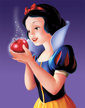 Learning when to say no to the shiny apples solo for Miroir miroir blanche neige