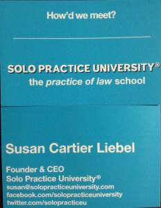 SPU Business Card