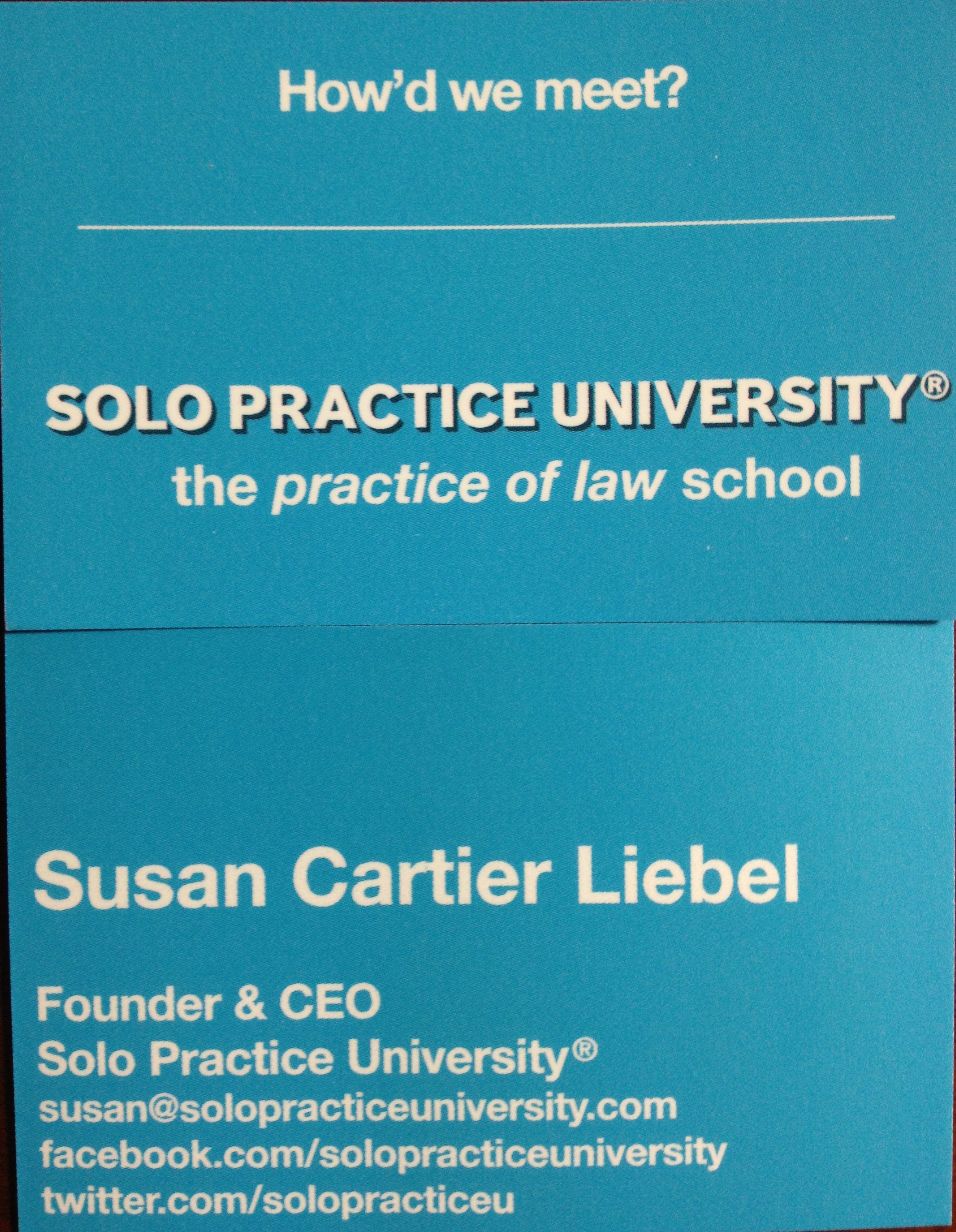 Is the Business Card Dead? | Solo Practice University®