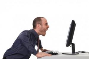 Yelling at Computer
