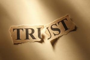 Trust broken