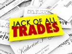 Jack of All Trades Business Cards Diverse Versatile Skills Exper