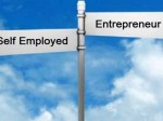 Self-employed versus entrepreneur