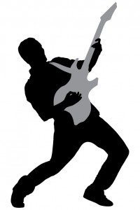 rockstar silhouette