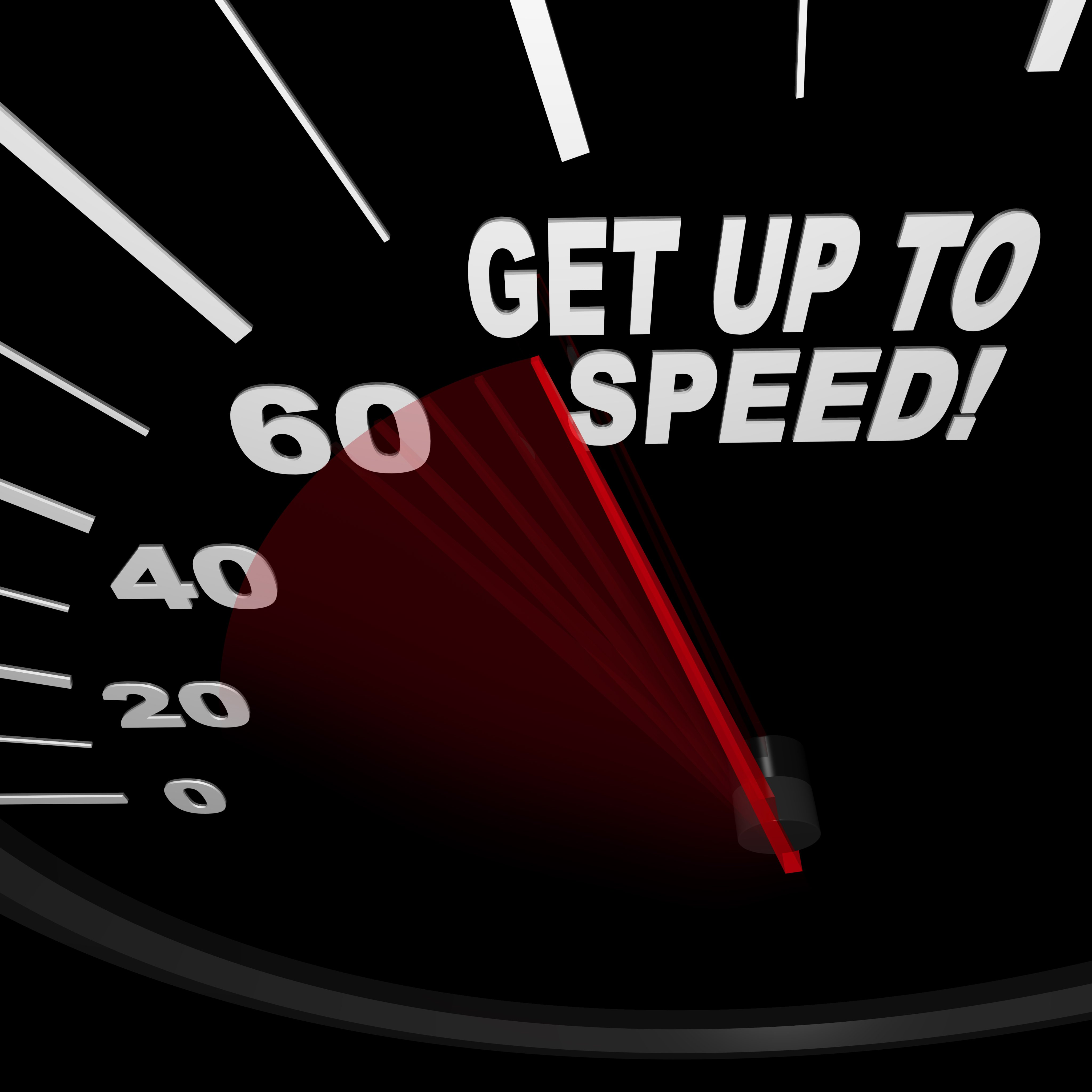 Get Up to Speed - Speedometer