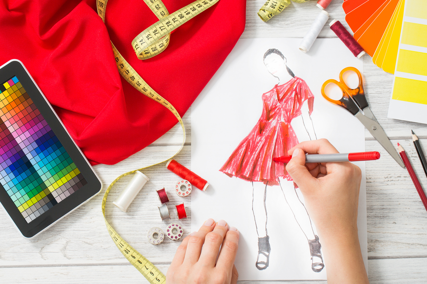 Why you should think more like a designer and a little Fashion designing course subjects