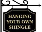Hanging a shingle